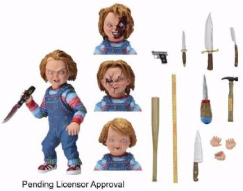 "Chucky 7"" Scale Ultimate Chucky Action Figure NECA"